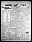 Roswell Daily Record, 07-27-1908 by H. E. M. Bear