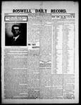 Roswell Daily Record, 07-28-1908 by H. E. M. Bear