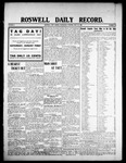 Roswell Daily Record, 07-29-1908 by H. E. M. Bear