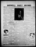 Roswell Daily Record, 08-01-1908 by H. E. M. Bear
