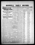 Roswell Daily Record, 08-03-1908 by H. E. M. Bear