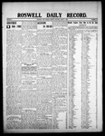 Roswell Daily Record, 08-04-1908 by H. E. M. Bear