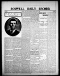Roswell Daily Record, 08-05-1908 by H. E. M. Bear