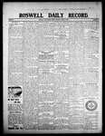 Roswell Daily Record, 08-07-1908 by H. E. M. Bear