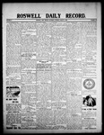 Roswell Daily Record, 08-08-1908 by H. E. M. Bear