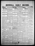 Roswell Daily Record, 08-10-1908 by H. E. M. Bear