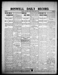 Roswell Daily Record, 08-11-1908 by H. E. M. Bear