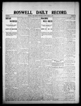 Roswell Daily Record, 08-12-1908 by H. E. M. Bear