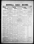 Roswell Daily Record, 08-13-1908 by H. E. M. Bear