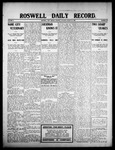 Roswell Daily Record, 08-18-1908 by H. E. M. Bear