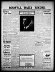 Roswell Daily Record, 08-21-1908 by H. E. M. Bear