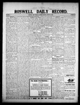 Roswell Daily Record, 08-22-1908 by H. E. M. Bear