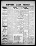 Roswell Daily Record, 08-24-1908 by H. E. M. Bear