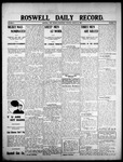Roswell Daily Record, 08-26-1908 by H. E. M. Bear
