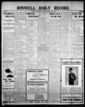 Roswell Daily Record, 08-29-1908 by H. E. M. Bear