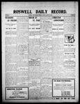 Roswell Daily Record, 08-31-1908 by H. E. M. Bear