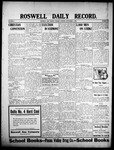 Roswell Daily Record, 09-01-1908 by H. E. M. Bear