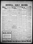 Roswell Daily Record, 09-02-1908 by H. E. M. Bear