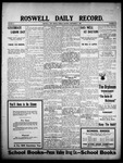 Roswell Daily Record, 09-07-1908 by H. E. M. Bear