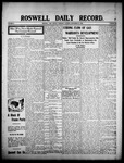 Roswell Daily Record, 09-10-1908 by H. E. M. Bear