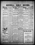 Roswell Daily Record, 09-12-1908 by H. E. M. Bear