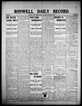 Roswell Daily Record, 09-15-1908 by H. E. M. Bear