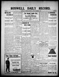 Roswell Daily Record, 09-16-1908 by H. E. M. Bear
