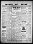 Roswell Daily Record, 09-18-1908 by H. E. M. Bear