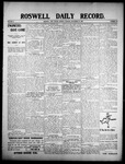 Roswell Daily Record, 09-21-1908 by H. E. M. Bear