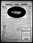 Roswell Daily Record, 09-22-1908 by H. E. M. Bear