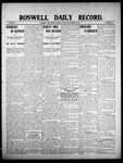 Roswell Daily Record, 09-28-1908 by H. E. M. Bear
