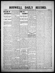 Roswell Daily Record, 10-05-1908 by H. E. M. Bear