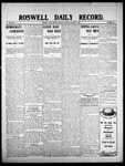 Roswell Daily Record, 10-06-1908 by H. E. M. Bear