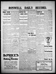 Roswell Daily Record, 10-07-1908 by H. E. M. Bear