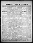 Roswell Daily Record, 10-12-1908 by H. E. M. Bear