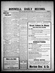 Roswell Daily Record, 01-04-1909 by H. E. M. Bear