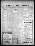 Roswell Daily Record, 01-05-1909 by H. E. M. Bear