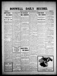 Roswell Daily Record, 01-06-1909 by H. E. M. Bear
