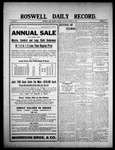 Roswell Daily Record, 01-11-1909 by H. E. M. Bear