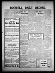 Roswell Daily Record, 01-13-1909 by H. E. M. Bear