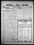 Roswell Daily Record, 01-14-1909 by H. E. M. Bear