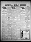 Roswell Daily Record, 01-15-1909 by H. E. M. Bear