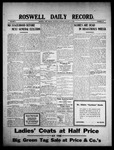 Roswell Daily Record, 01-16-1909 by H. E. M. Bear