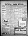Roswell Daily Record, 01-18-1909 by H. E. M. Bear