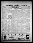 Roswell Daily Record, 01-19-1909 by H. E. M. Bear