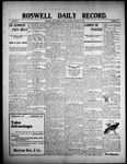 Roswell Daily Record, 01-26-1909 by H. E. M. Bear
