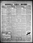 Roswell Daily Record, 01-27-1909 by H. E. M. Bear