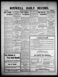 Roswell Daily Record, 01-29-1909 by H. E. M. Bear