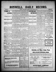 Roswell Daily Record, 01-30-1909 by H. E. M. Bear