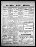 Roswell Daily Record, 02-01-1909 by H. E. M. Bear